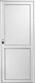 Puertas En Aluminios Blanco Medidas 0.90*2.05