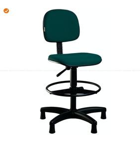 Cadeira Caixa Alta Secretária   Várias Cores!