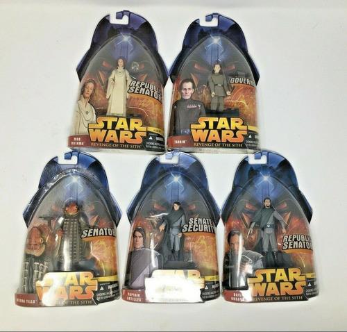 Hasbro, Lote De Figuras De Acción De Políticos De Star Wars