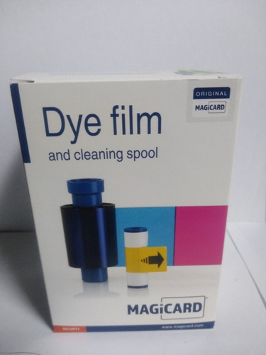 Cinta Magicard Dye Film And Cleaning Spool Ma300ymcko