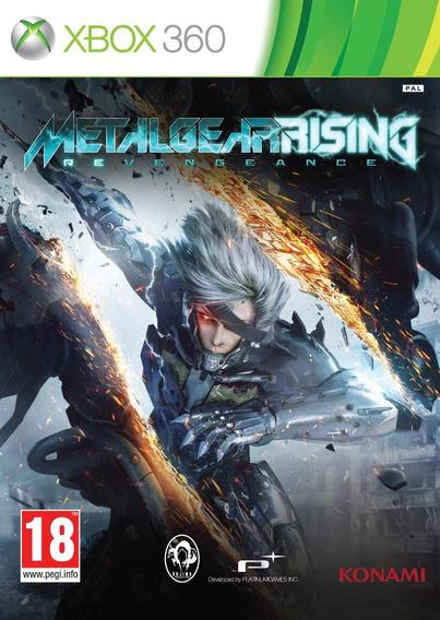 Jogo Metal Gear Rising Xbox 360 One Mídia Físic Frete Grátis