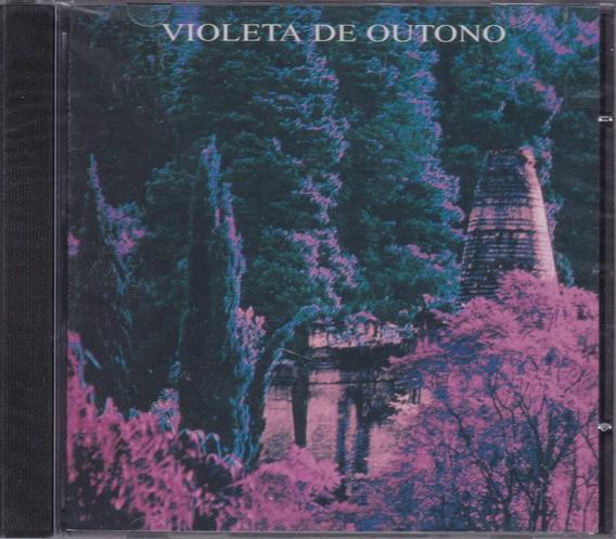 Violeta De Outono - Cd Plug Raridade - Lacrado De Fábrica