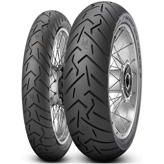 Par Pneu 150/70r18 + 90/90-21 Tl Scorpion Trail 2 Pirelli