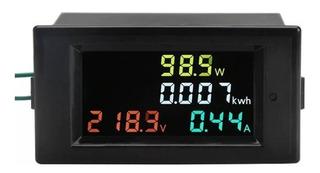Medidor Lcd Consumo Kwh Corriente Potencia Voltaje 80-300v