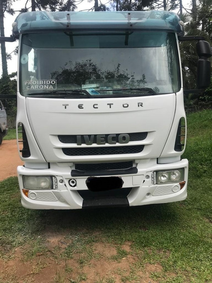 Iveco Tector 240e25 Cabinado Trucado 6x2 Caçamba 12mts Otimo