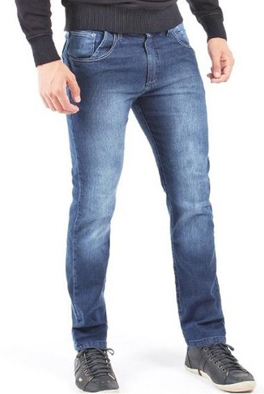 Kit 3 Calças Jeans Masculina Slim Skinny Lycra 12x Sem Juros