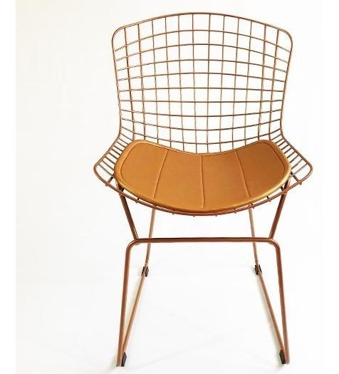 Cadeira Bertoia Cobre Direto De Fábrica