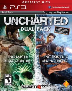 Uncharted 1 + 2 - Ps3 - Digital - Manvicio Store