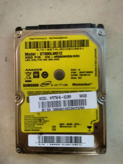 Hd Externo Da Samsung 500 Gb Novo
