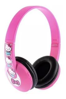 Fone De Ouvido Sem Fio Hello Kitty Com Bluetooth