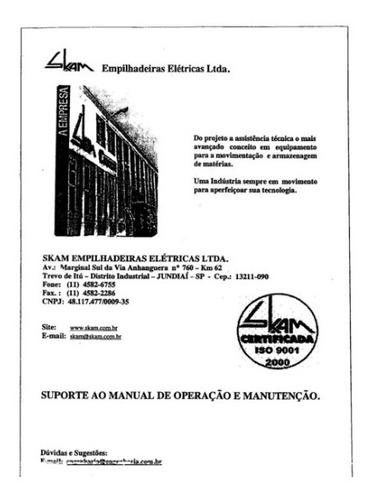 Manual Pecas Skam Ep 1600   63pg