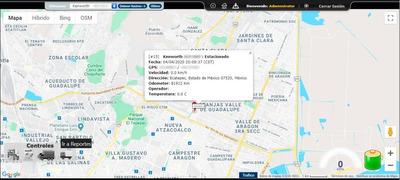 Sistema De Rastreo Satelital Automatizado [mensual]