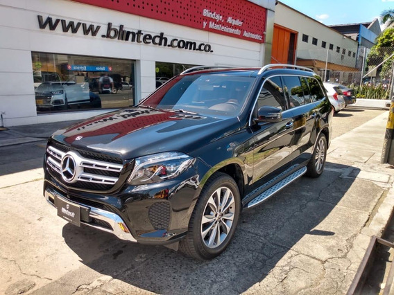 Mercedes Benz Gls 500 4matic Blindada 4.7 Negro 2019