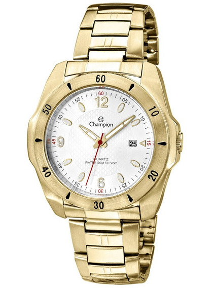 Relógio Masculino Champion Dourado Ca30141h