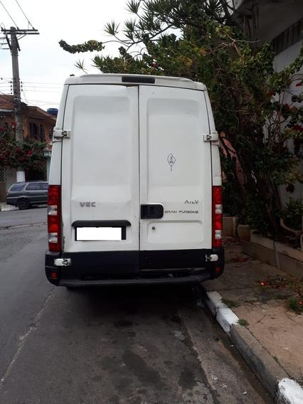 Iveco Refrigerada Daily35s14 Granfurgo Agregada Trabalhando