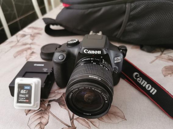 Câmera Canon Ios 4000d
