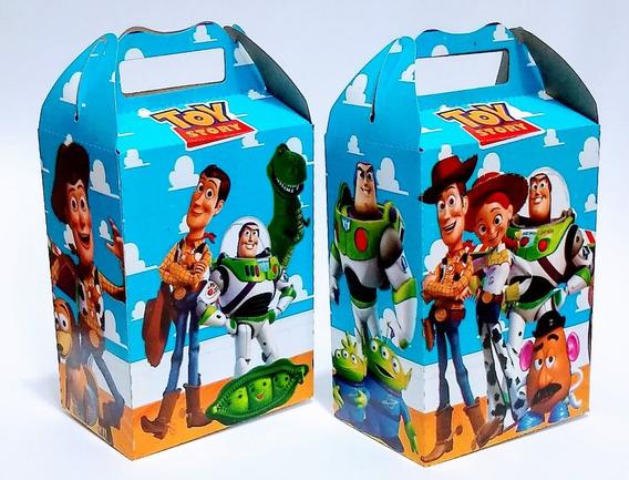 Toy Story -- 25 Cajas Dulceros Articulos De Fiestas