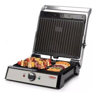 Liliana Ak950 Parrilla Eléctrica Grill 2000w Cocina Doble