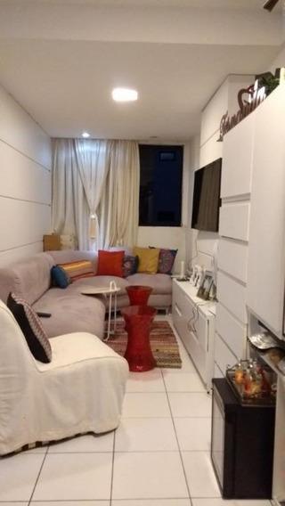 Apartamento Em Barro Vermelho, Natal/rn De 54m² 2 Quartos À Venda Por R$ 215.000,00 - Ap271658