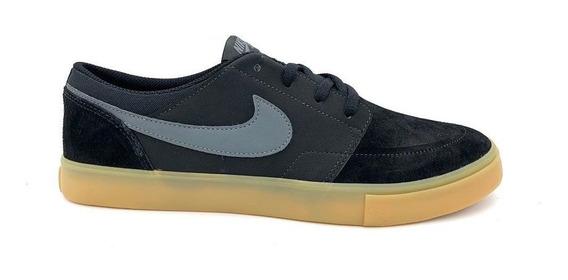 Tênis Nike Sb Portmore 2 Solar 880266009 Preto Black/gum