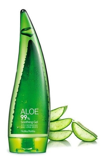 Aloe 99% Soothing Gel 55ml, Holika Holika Original Coreano