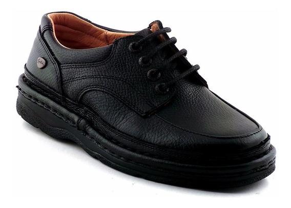 Zapato Hombre Cuero Cavatini Goma Confort Cordon - Hcac00801