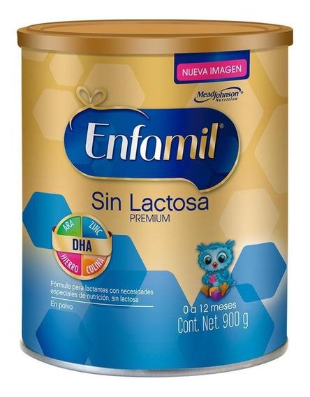 Fórmula para lactantes en polvo Mead Johnson Enfamil Sin Lactosa en lata de 900g