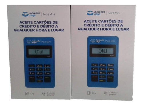 Imagem 1 de 1 de Point Mini D150 Maquina De Cartão Mercado Pago
