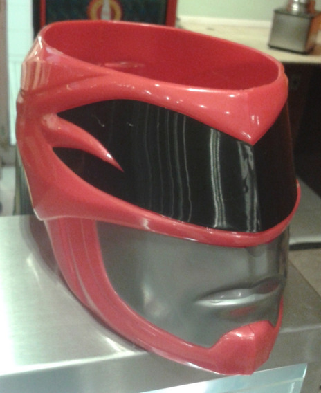 Capacete Balde Power Rangers Cinemark Balde Power Ranger
