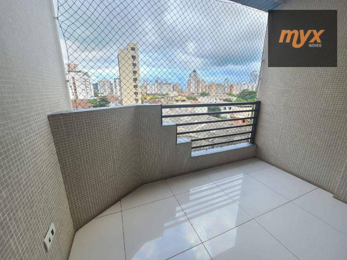 Imagem 1 de 28 de Apartamento Com 3 Dormitórios À Venda, 96 M² Por R$ 515.000,00 - Ponta Da Praia - Santos/sp - Ap6143
