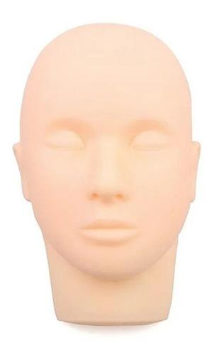 Imagem 1 de 9 de Cabeça De Silicone Maquiagem, Cílios E Micropigmentação