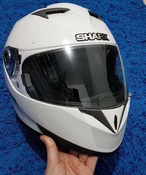 Capacete Para Motociclistas Shark Original Tam. 56 Semi Novo