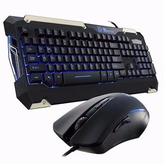 Teclado Combo Mouse Gamer Thermaltake Gaming Commander