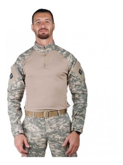 Combat Shirt Camuflado Digital Areia - Bélica