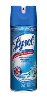 Lysol Desinfectante Aerosol Antibacterial 354g