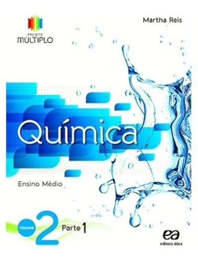 Projeto Multiplo, V.2 - Quimica - 2º Ano - Ensino Médio - 2º