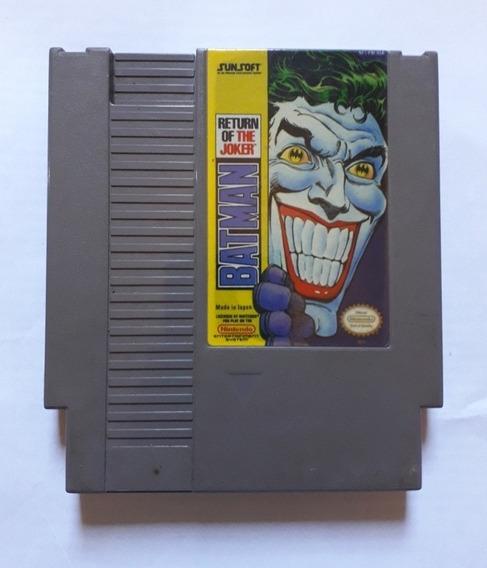 Batman Return Of The Joker Original Americano Nes Nintendo