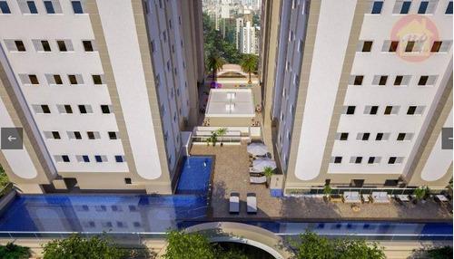 Apartamento À Venda, 47 M² Por R$ 207.000,00 - Planalto Bela Vista - São Vicente/sp - Ap4246