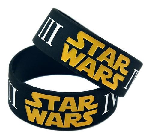Pulsera De Silicona Star Wars Capitulo I Ii Iii Iv