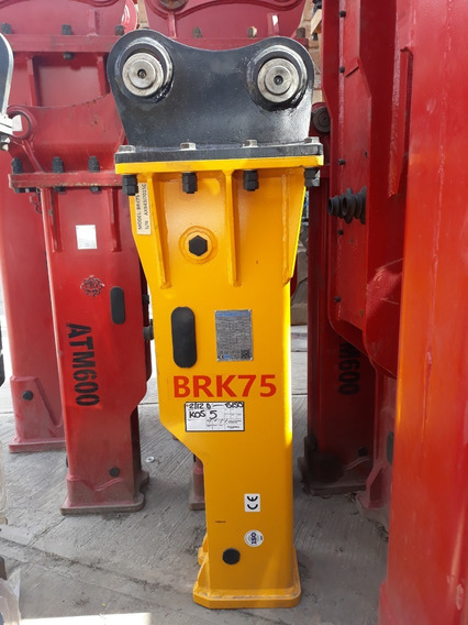 Axb Brk75 Martillo Hidráulico Para Retroexcavadora