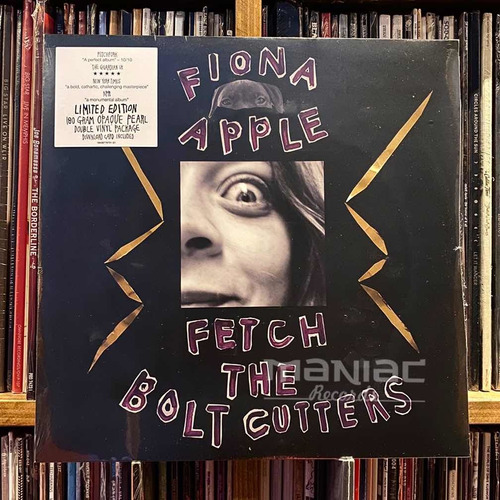 Imagen 1 de 2 de Fiona Apple Fetch The Bolt Cutters Edicion 2 Vinilos Color