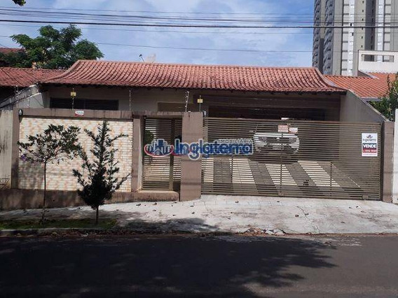 Oportunidade!! Casa Com 3 Dormitórios À Venda, 172 M² Por R$ 450.000 - Jardim Igapó- Londrina/pr - Estuda Troca Por Apartamento - Ca0338