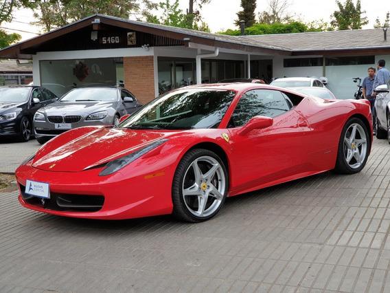 Ferrari 458 Italia 4.5 Aut 2012