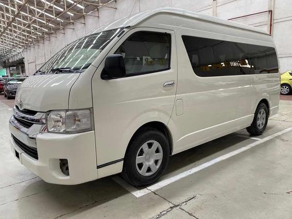 Toyota Hiace Gl 15 Pasjs Std 5 Vel Ac 2015