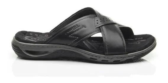 Chinelo Masculino Slide Pegada 131661 Confortável Leve