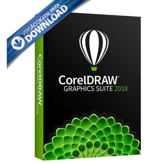 Licença Coreldraw 2018 1 Ano Ativação