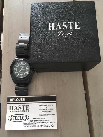 Reloj Haste Caballero