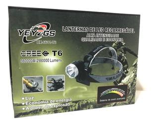Farol Bike Monster 5.400.000 Lumens Bateria 11hs T6 L2+forte