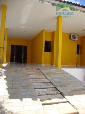 Casa Residencial À Venda, Manaíra, João Pessoa. - Ca0188