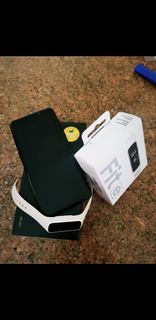 Samsung Galaxy S9 Preto 128 Gigas + Smartwatch Galaxy Fit E
